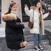 孕婦冬裝羽絨棉服懷孕期寬鬆大碼棉襖女加厚中長款孕婦裝棉衣外套