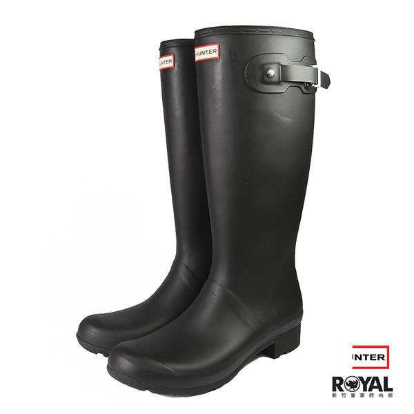 Hunter Boots 黑色 霧面 雨靴 男女款 NO.I7223【新竹皇家 HUT02600 B9】