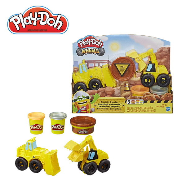 Play-Doh培樂多-車輪系列-怪手組