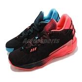adidas 籃球鞋 Dame 7 GCA Visionary 黑 藍 桃紅 男鞋 Lillard 陰陽 鴛鴦鞋 【ACS】 G57905
