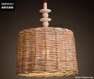 INPHIC- 新中式竹編吊燈東南亞餐廳吧台茶室燈日式竹子燈籠竹藝吊燈_S197C
