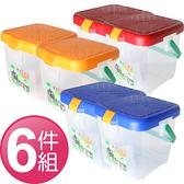 【台灣製 月光寶盒RV多功能桶《六件組》 】P888/可承重/置物桶/洗車桶/收納桶/萬用桶