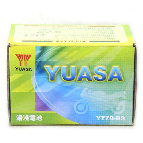 YUASA湯淺YT7B-BS 7號薄型酷龍GTR新勁戰機車電池電瓶