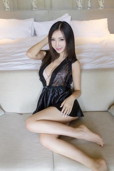 黑色高端荷葉邊性感裙 誘惑新娘睡衣 透視情趣內衣