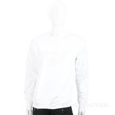 Emporio Armani 膠片老鷹標誌白色棉質運動衫(男款) 1920702-20