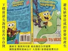 二手書博民逛書店spongebob罕見squarepants mermaid to measure:海綿寶寶方形美人魚測量Y2