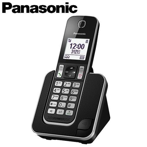 Panasonic 國際牌 數位中文無線電話 KX-TGD310TW 黑