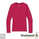 【SmartWool 美國 女 NTS 250圓領長袖衫《霧桃橘》】SW0SW16370/內層衣/保暖長袖