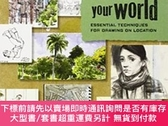 二手書博民逛書店Sketch罕見Your WorldY255174 James Hobbs Apple Press 出版20