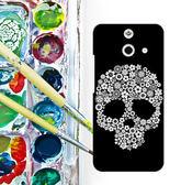 ✿ 3C膜露露 ✿ HTC One E8【花骷髏*立體浮雕水晶硬殼 】手機殼 保護殼 保護套 手機套
