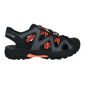 LOTTO 男排水護趾涼鞋(休閒 健走鞋 水陸鞋 反光 海邊 戲水≡體院≡ LT1AMS3158