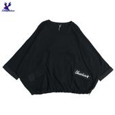 【秋冬降價款】American Bluedeer - 寬鬆刺繡上衣 秋冬新款