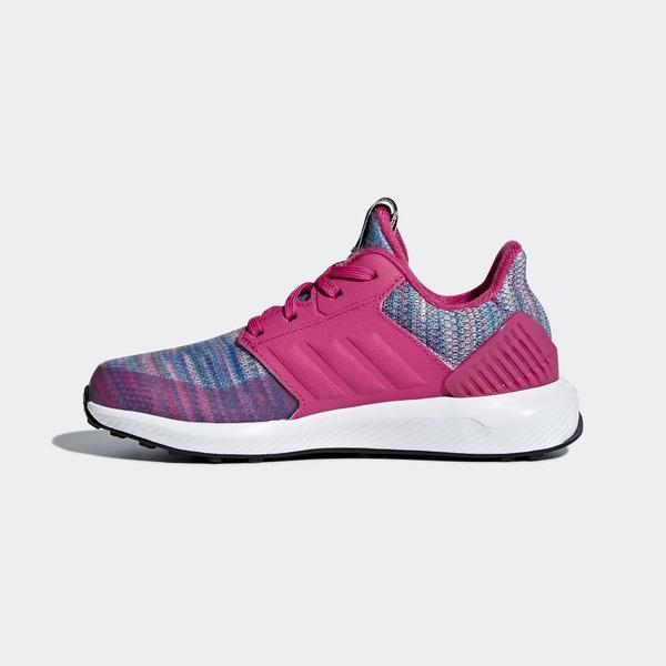 ADIDAS RAPIDARUN BTW K [AH2603] 大童 運動 休閒 跑步 透氣 舒適 保護 愛迪達 紫紅