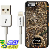 [106美國直購] Otterbox Defender Series Case for iPhone 6 6s and AmazonBasics Lightning Cable (6-Feet) Pack