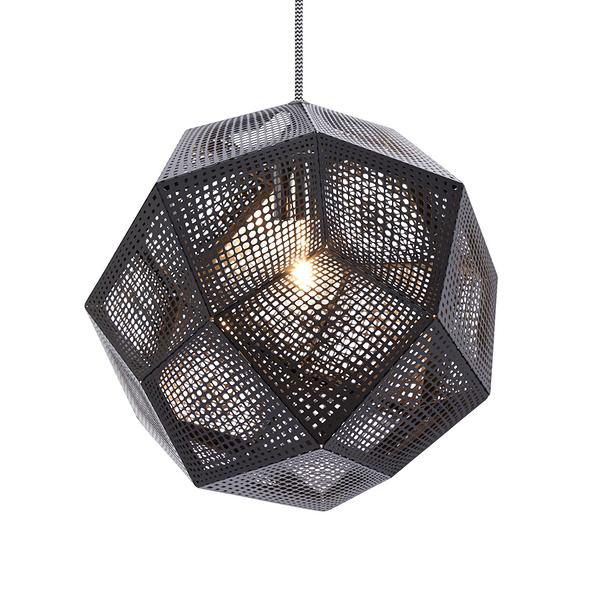 英國 Tom Dixon Etch Shade Black Suspension Lamp 黑磚 吊燈