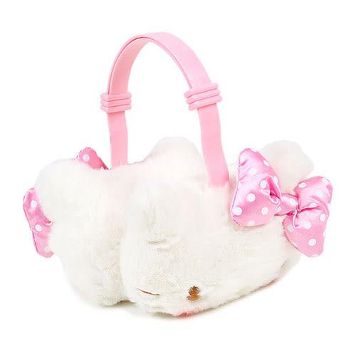 《Sanrio》HELLO KITTY造型兒童耳罩(點點蝴蝶結粉) 798894