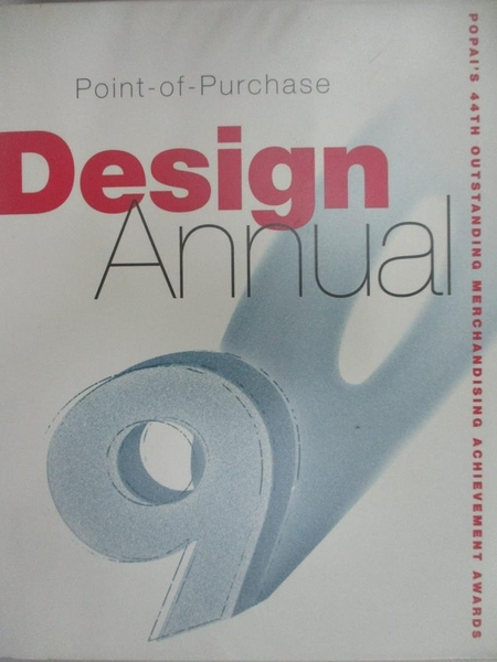 【書寶二手書T1/廣告_J68】Point-Of-Purchase Design Annual: The 44th…
