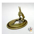 雙魚鐵片香架 (2入) 【 十方佛教文物】