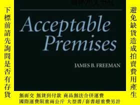 二手書博民逛書店【罕見】Acceptable PremisesY27248 Freeman, James Cambridge