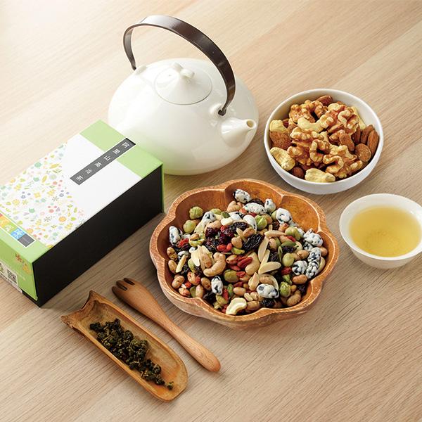 【愛不囉嗦】萃果茗香 綜合堅果禮盒