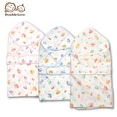 母嬰同室 台灣製DODOE紗布包巾(附束帶)高密度四層松鼠紗布包巾新生兒 75*75【JA0120】
