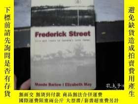 二手書博民逛書店Frederic罕見Street Life and Death