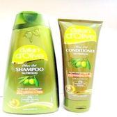 Dalan~橄欖油修護護髮素+橄欖油修護洗髮露(修護魔髮組禮盒) ~特惠中~