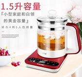 養生壺全自動加厚玻璃多功能煮茶器電熱燒水壺花茶壺煎藥壺220V-快速出貨