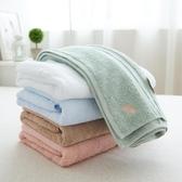 純棉浴巾 高檔埃及棉大浴巾洗澡毛巾 刺繡純色加厚600g 出口日本