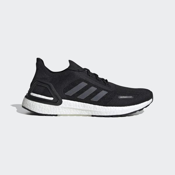 Adidas ULTRABOOST SUMMER.RDY 男款黑色運動慢跑鞋-NO.EG0748