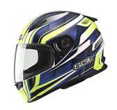 [東門城][預購]SOL SF-2M 新世紀 白藍 全罩式安全帽
