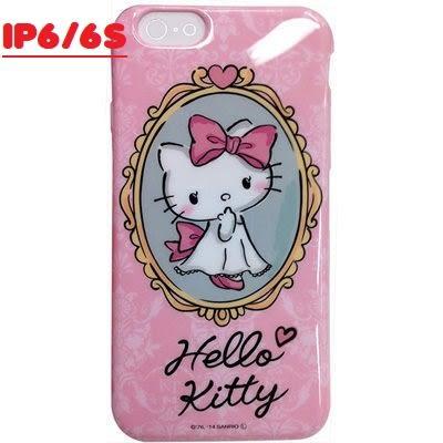 GD iPhone 6 / 6S 4.7吋 Hello Kitty 保護套 粉紅鏡台 凱蒂貓手機殼 保護殼