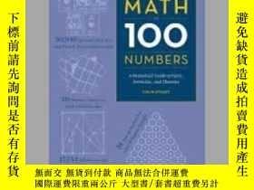二手書博民逛書店Maths罕見in 100 numbers - A Numeri