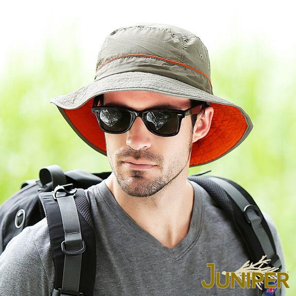 防曬帽漁夫帽子-戶外抗UV紫外線防潑水超大頭圍尺寸休閒遮陽帽J7226 JUNIPER