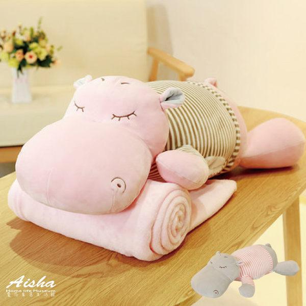 河馬玩偶抱枕