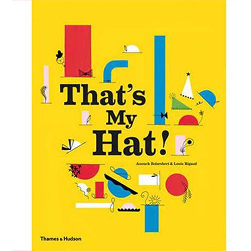 That's My Hat! 那是我的帽子耶!立體書