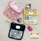收納零錢袋~雅瑪小鋪日系貓咪包 啵啵貓動物系列衛生棉收納袋/側背包/拼布包包