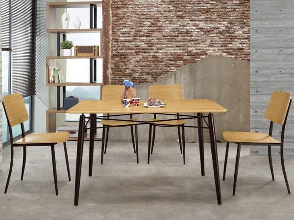 餐桌 MK-470-3 尤妮絲4尺餐桌 (不含椅子)【大眾家居舘】
