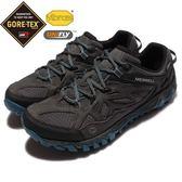 Merrell 戶外鞋 All Out Blaze Gore-Tex 防水 越野 登山 灰藍 黑 男鞋【PUMP306】 ML32803