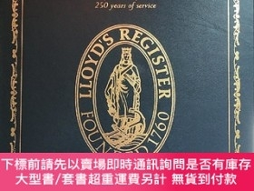 二手書博民逛書店英文原版Lloyd s罕見Register 250 years of service勞氏船級社成立250周年誌
