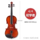 初學者小提琴兒童入門練習成人考級演奏手工實木專業級提琴 DJ12390『毛菇小象』
