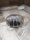 【麗室衛浴】戶外 陽台 頂樓M-038A 地板專用不鏽鋼柵欄式落水頭格柵 防落葉