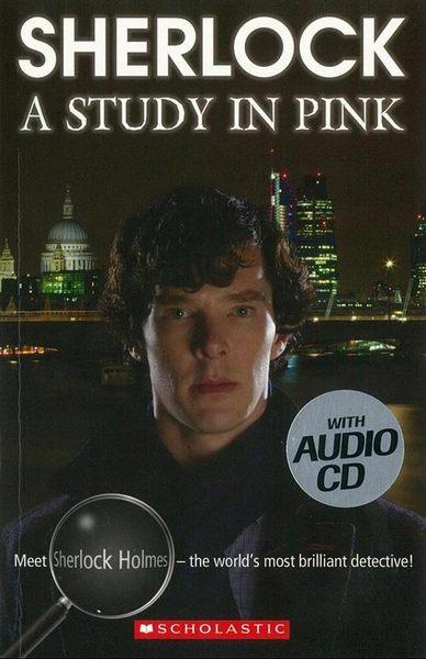 (二手書)Scholastic ELT Readers Level 4: Sherlock: A Study in Pink with C..