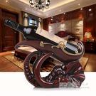 歐式創意樹脂紅酒架家用酒櫃擺件裝飾客廳展...