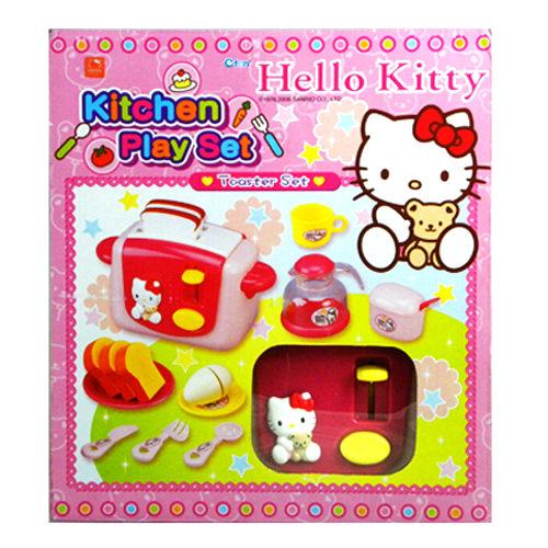 【Hello Kitty凱蒂貓】家家酒系列-KT烤麵包機 KT2018