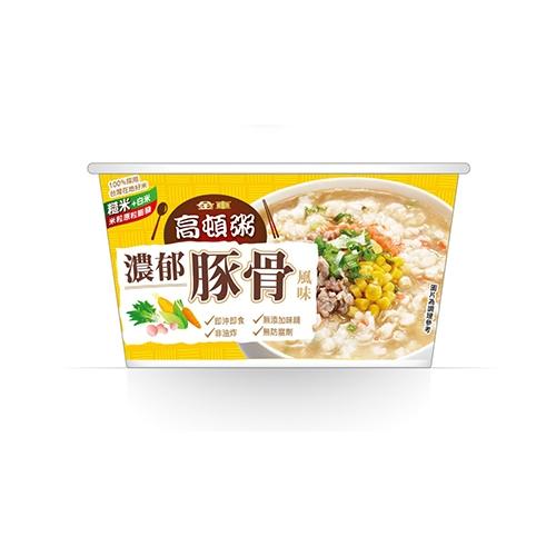 金車高頓粥濃郁豚骨風味63G【愛買】