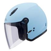 【東門城】SOL SL-27Y 素色 消光天空藍 通風性佳 3/4罩安全帽