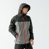 [安信騎士] BRIGHTDAY 邁邁 不積水 前項導流 兩件式 風雨衣 淺灰 雨衣