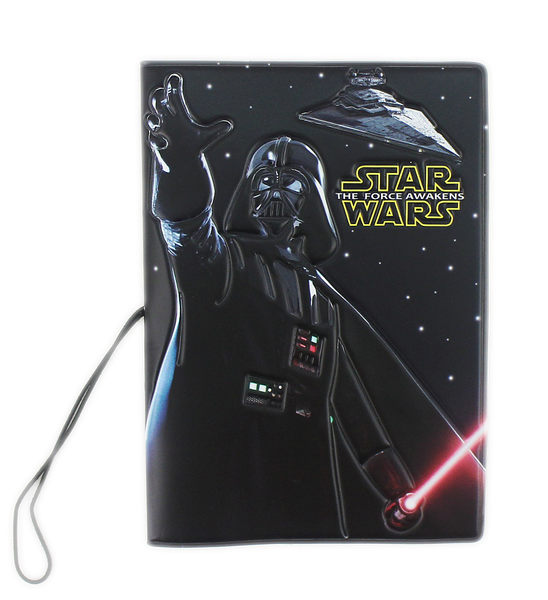 【卡漫城】 星際大戰 防水護照套 ~ 雙面不同圖案 收納本 護照夾 Star Wars 原力 黑武士 白武士