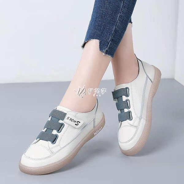 小白鞋女學生韓版2021新款時尚百搭單鞋軟底運動休閒鞋透氣板鞋潮